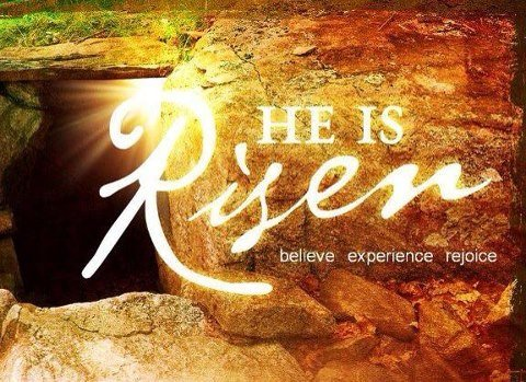 Happy Easter! Believe! Experience! Rejoice!