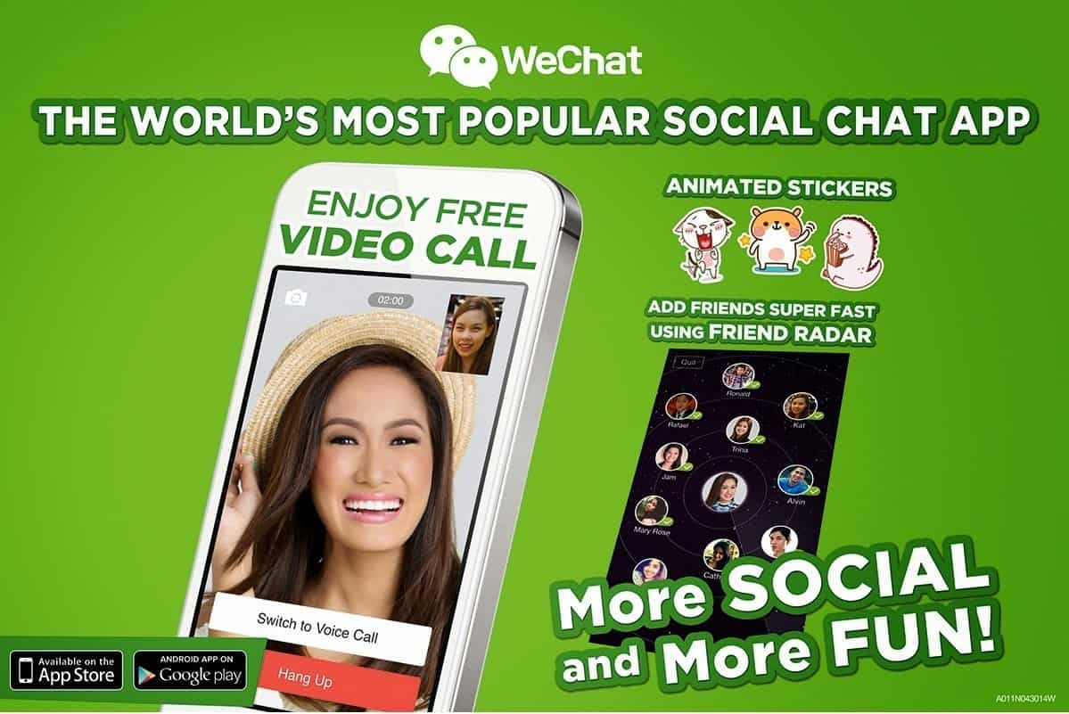 Turn On Your Screens and Meet WeChat's Newest Endorser!