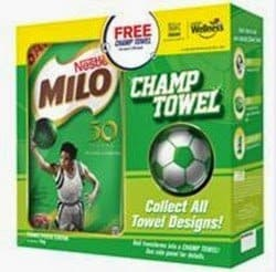Gear up your champ with the MILO Champ Towel