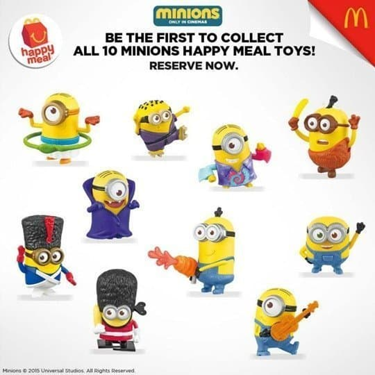 McDonald's Welcomes Back the Minions