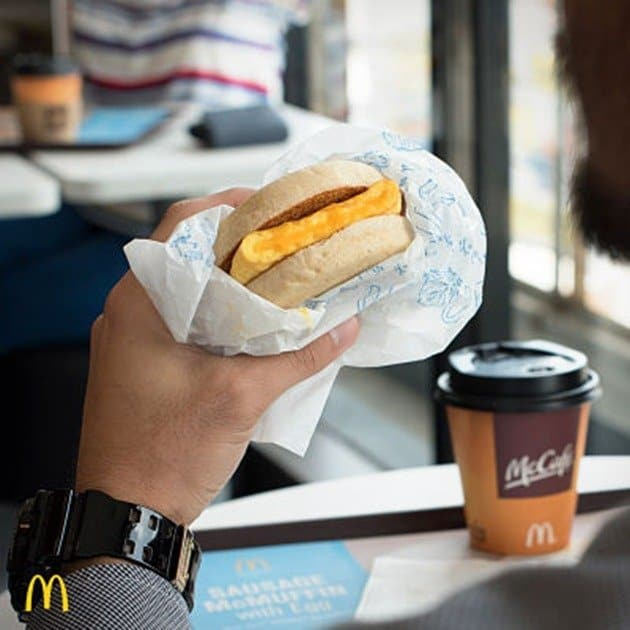 Start your day right with McDonald's all-new Cheesy Eggdesal