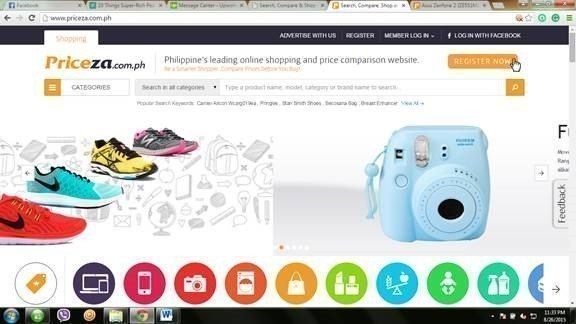 Search, Compare and Shop with PRICEZA