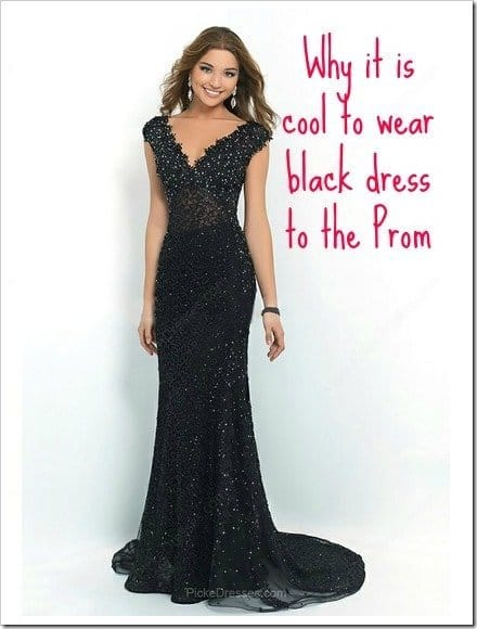 Why it is Cool to Wear Black to the Prom